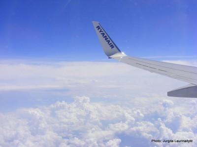 mano pirmasis skrydis